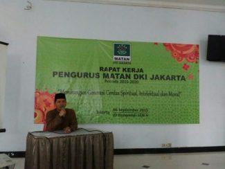 MATAN DKI Jakarta Menggelar Raker Perdana