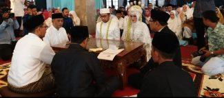 Sah! Muhammad Rajiv Ibrahim Resmi Menikah Dengan Alinda Syukriniati Farida