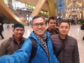 Tim Redaksi TQNNews Tiba di Kunming, Tiongkok