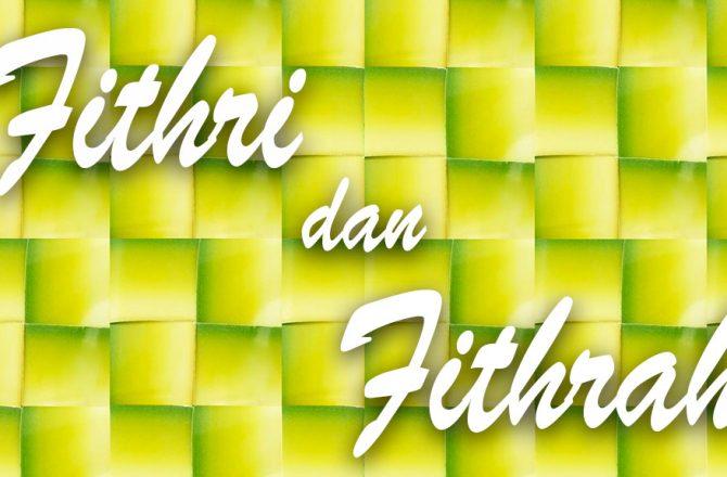 Fithri dan Fithrah
