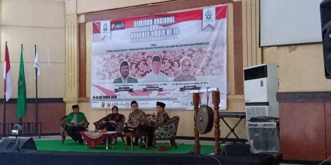 AMDIN Gelar Seminar Nasional dan Kongres IV : Susun Strategi Dakwah untuk Kalangan Milenial