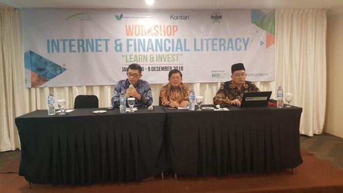 40 Guru dan Muballigh Tarekat Ikuti Workshop Internet dan Literasi Finansial